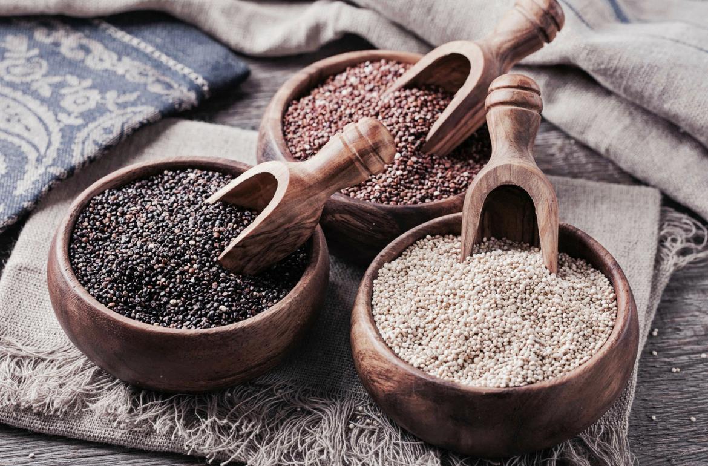 Quinoa: Die glutenfreie Alternative.