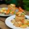 Pimp my meal: Hühnerfrikassee mit Blätterteig-Pasteten.