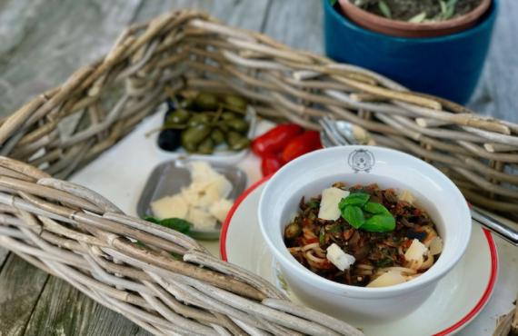 Pimp your meal: Tomatensauce für eine schnelle Spaghetti à la Puttanesca
