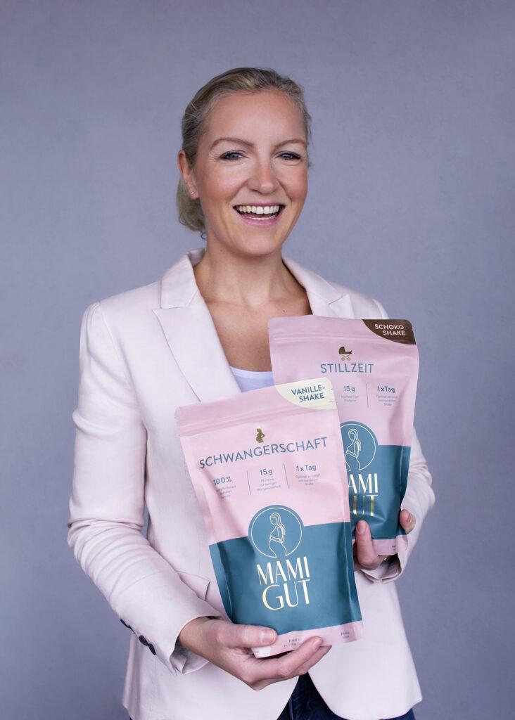 Vanessa van den Boom, die Gründerin von MamiGut