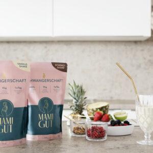 Nahrungsergänzungsmittel als Shakes für die Schwangerschaft und Stillzeit