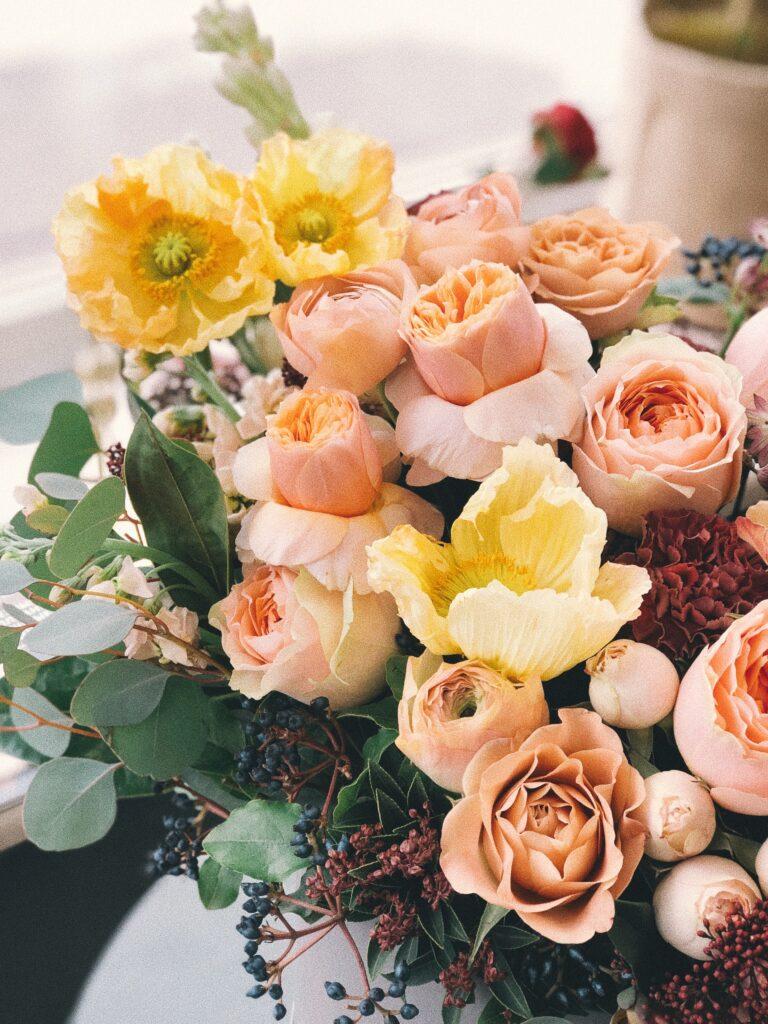 Blumenstrauss zur Geburt