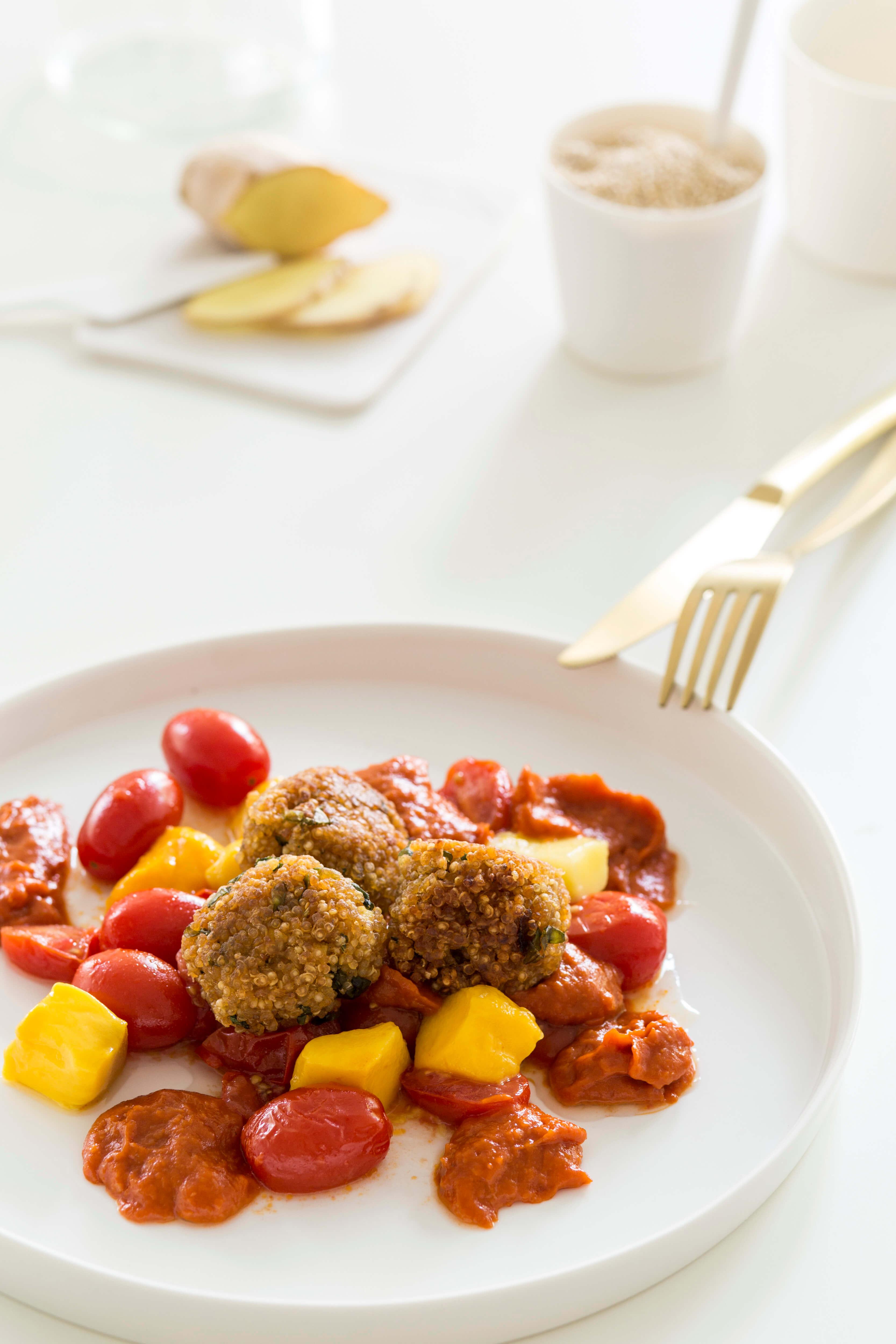 vegane ern hrung stillzeit wochenbett quinoa balls gesund mutter. Black Bedroom Furniture Sets. Home Design Ideas